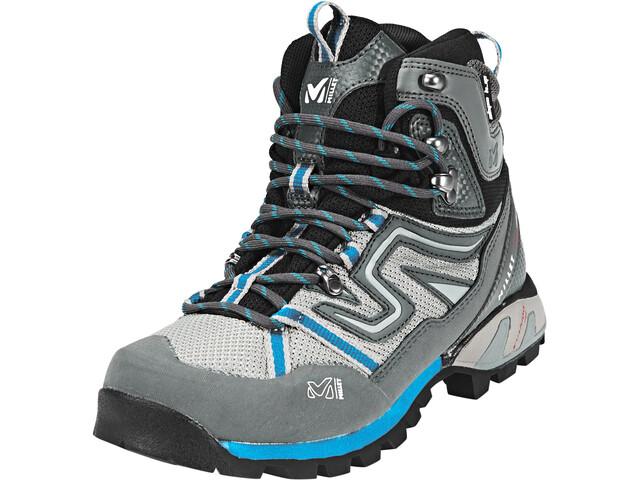 bf250c6523e Millet High Route Mesh Shoes Women aqua/dark grey